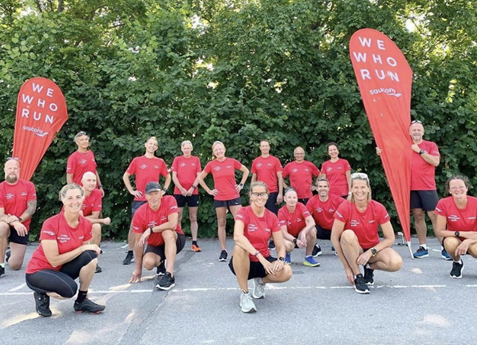 Saucony We Who Run Club tar dig i mål på TCS Lidingöloppet!